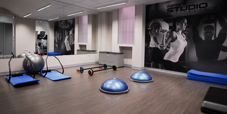 Infinit Fitness Azca sala entrenamiento funcional